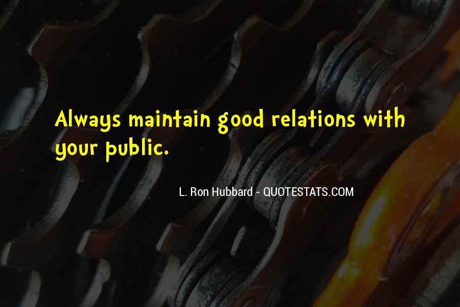 Public Relation Sayings #1495235