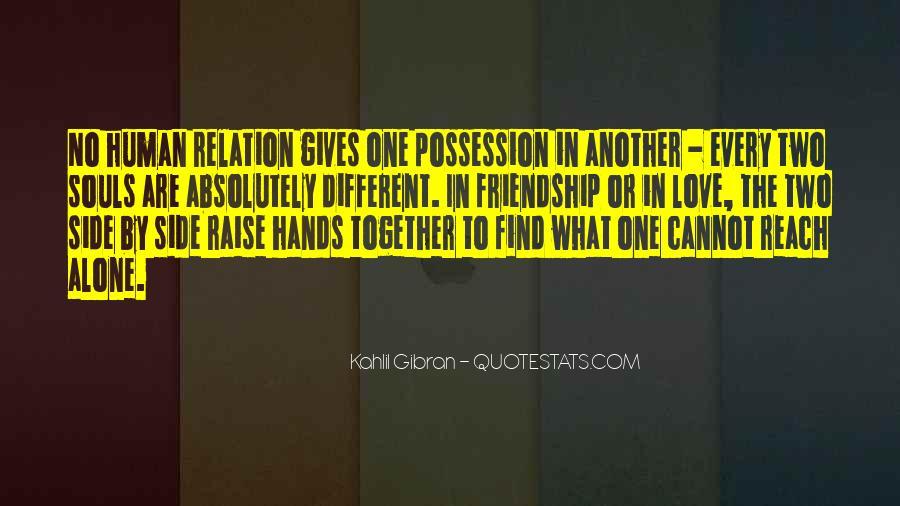 Love Relation Sayings #122067