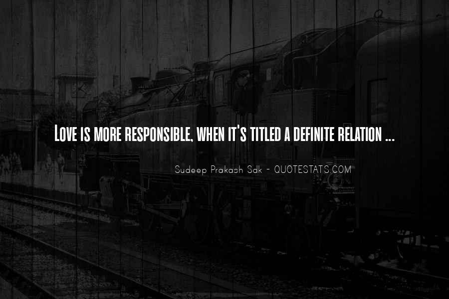 Love Relation Sayings #124740