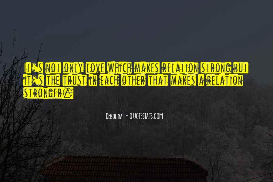 Love Relation Sayings #1434027