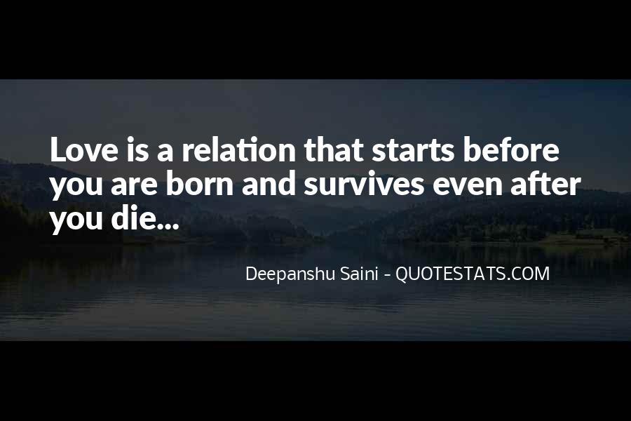 Love Relation Sayings #1509884