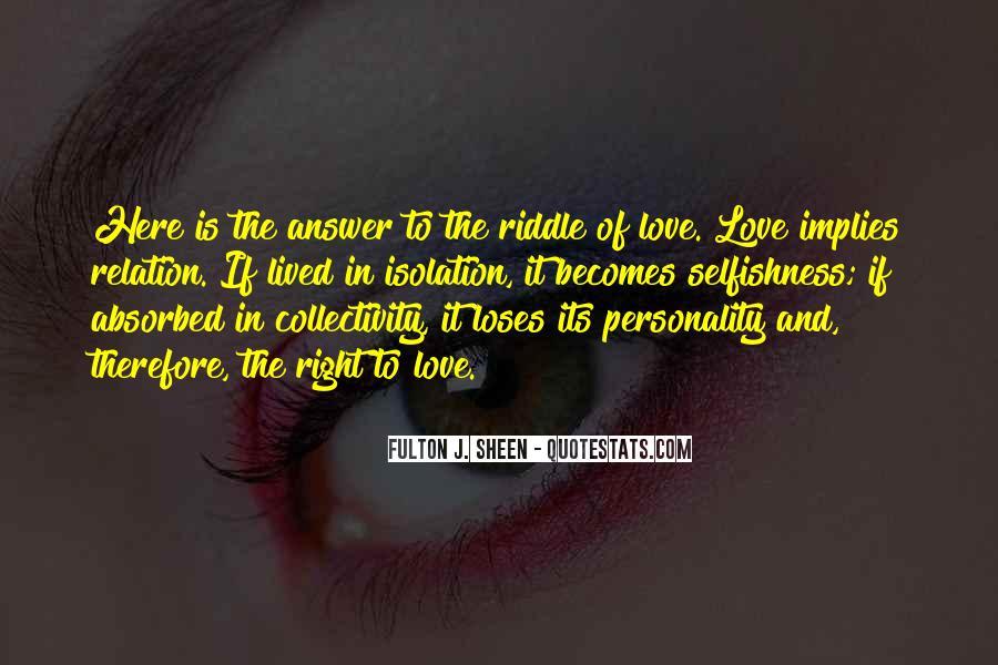 Love Relation Sayings #350411
