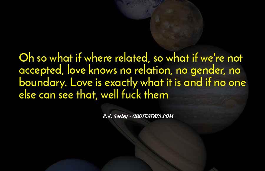 Love Relation Sayings #48293