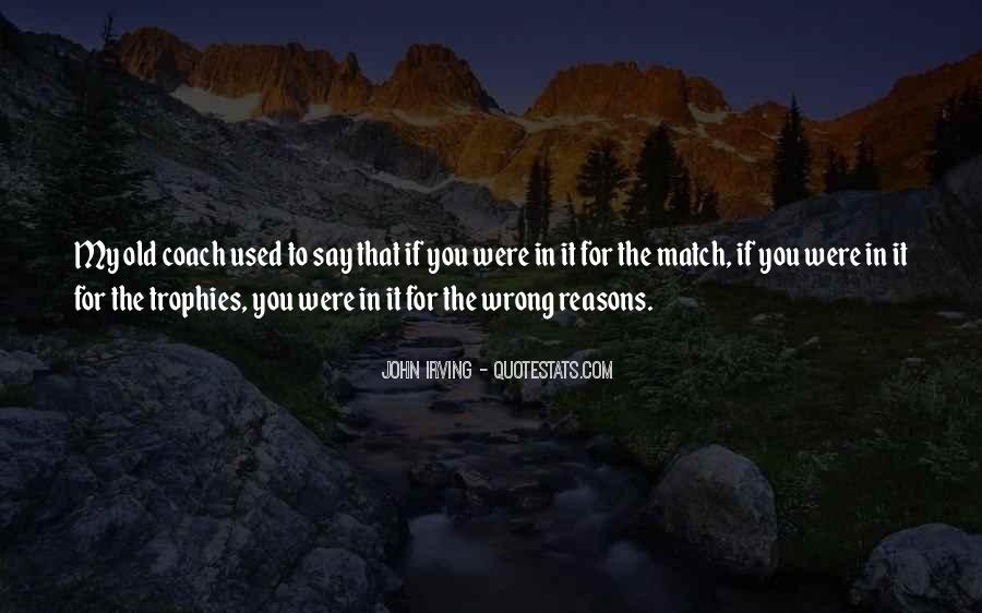 Reasons For Old Sayings #1105031