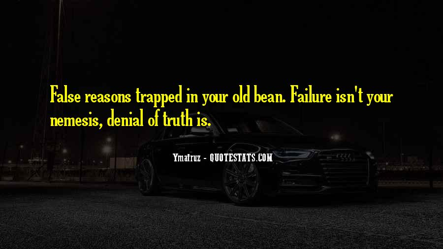 Reasons For Old Sayings #180488