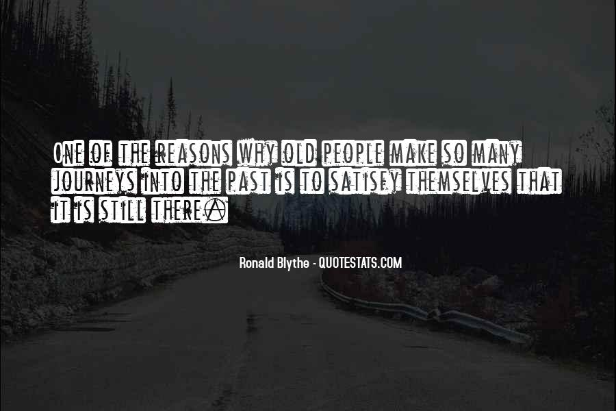 Reasons For Old Sayings #1863773
