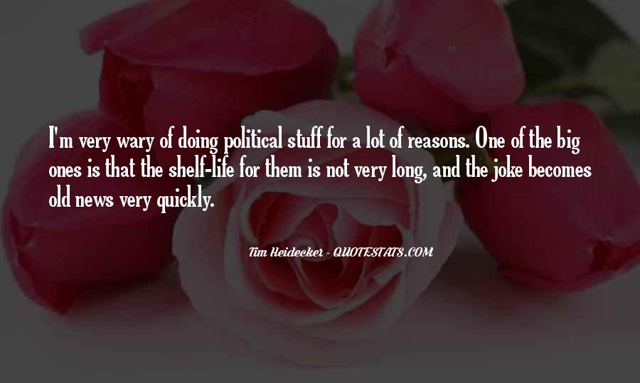 Reasons For Old Sayings #18743