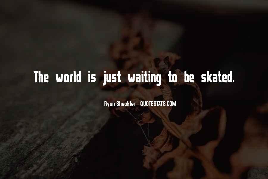 Ryan Sheckler Sayings #1254017