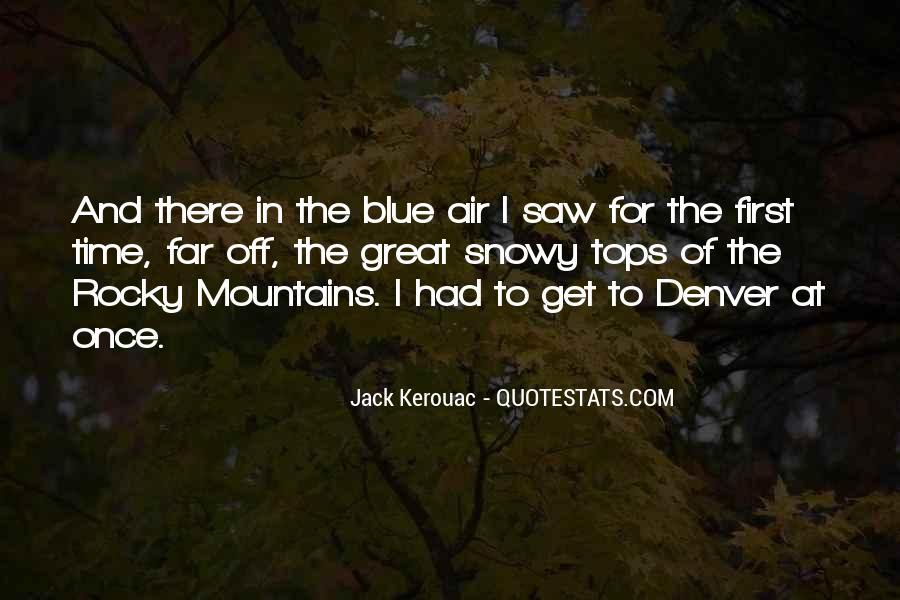 Rocky Mountain Sayings #475024