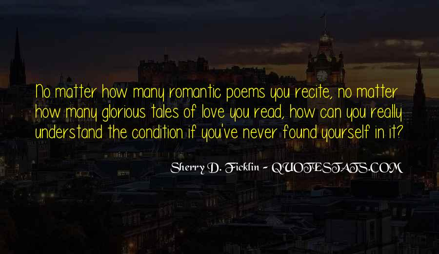 Romantic Poems And Sayings #723147