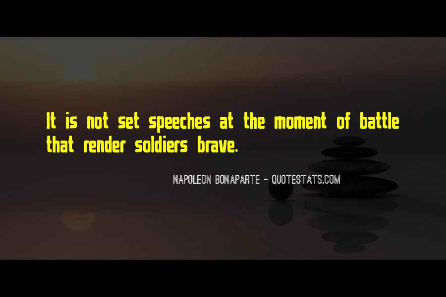 Brave Soldier Sayings #150472