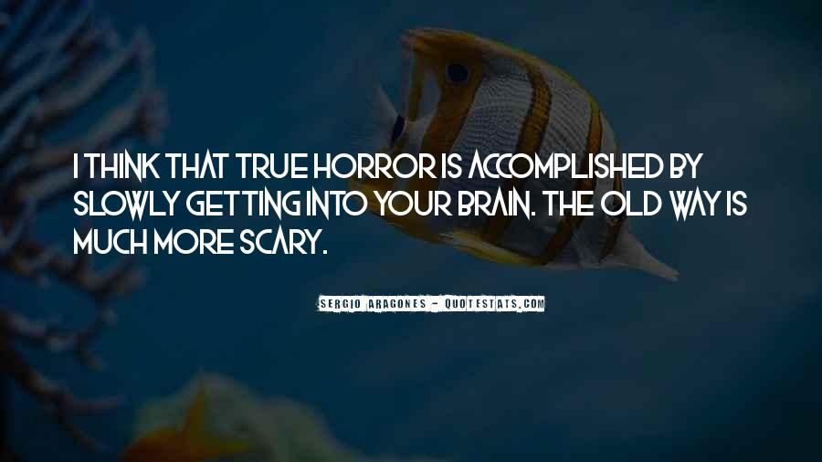 Old Scary Sayings #1047545