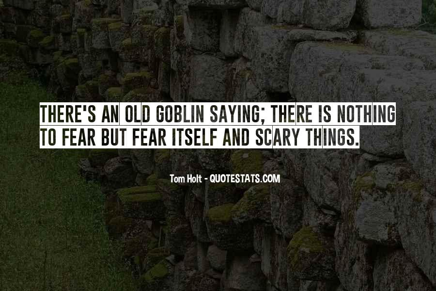 Old Scary Sayings #1627765