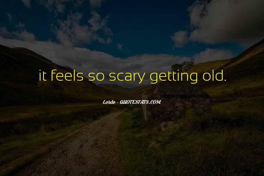 Old Scary Sayings #681558