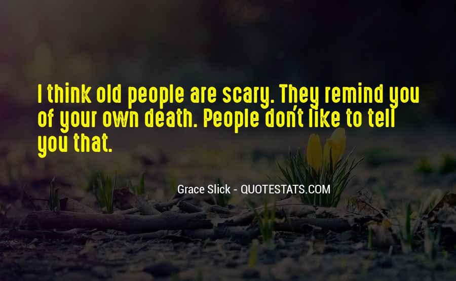 Old Scary Sayings #746686