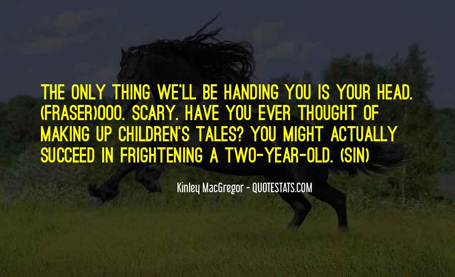 Old Scary Sayings #950664