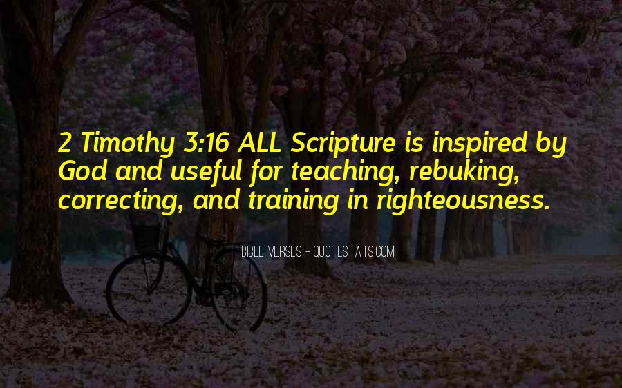 Inspirational Scripture Sayings #1031912