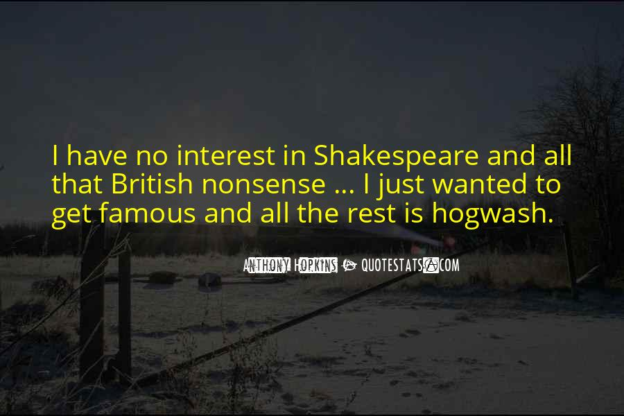 Famous Shakespeare Sayings #1167485