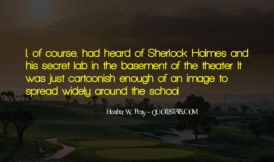 Sherlock Holmes Best Sayings #159780