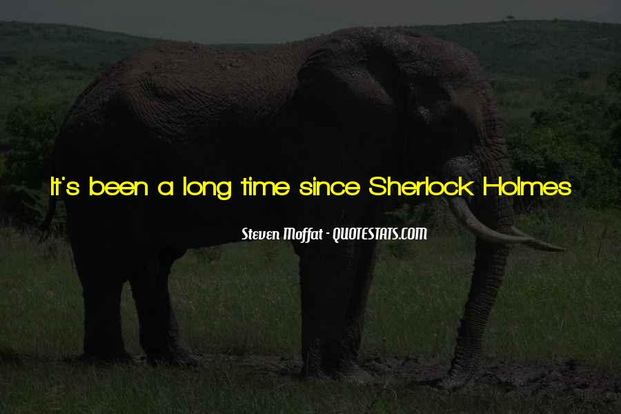 Sherlock Holmes Best Sayings #163706