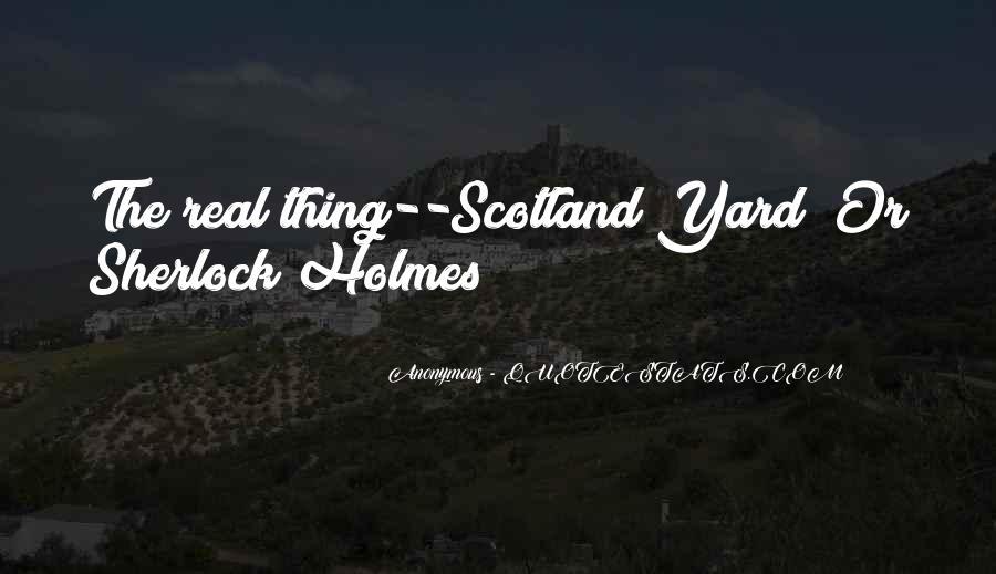 Sherlock Holmes Best Sayings #44397