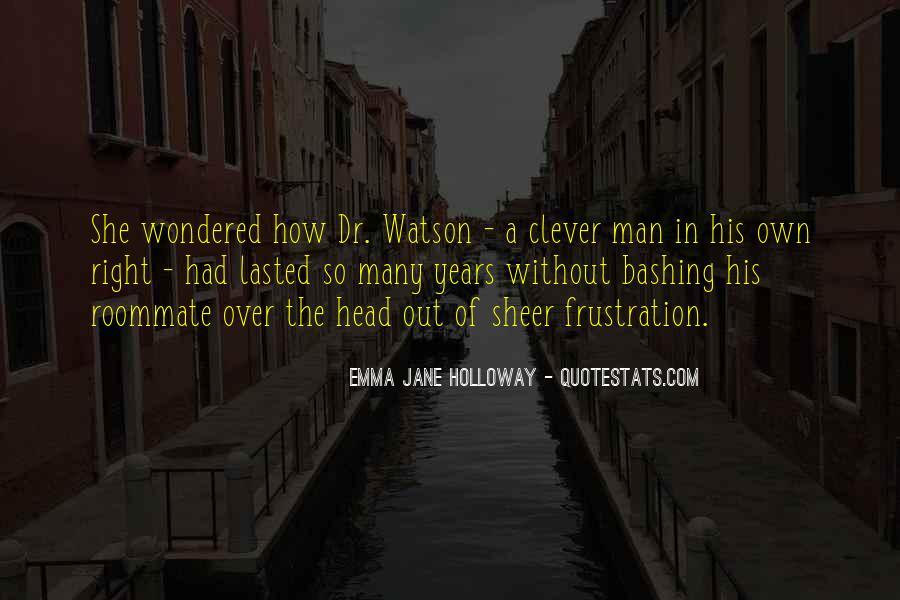 Sherlock Holmes Best Sayings #57666