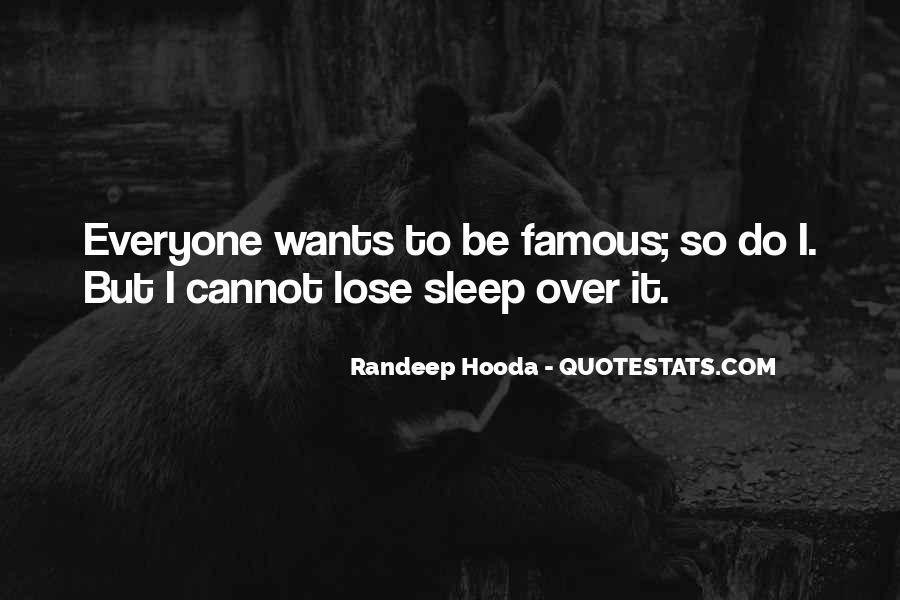Famous Sleep Sayings #70753