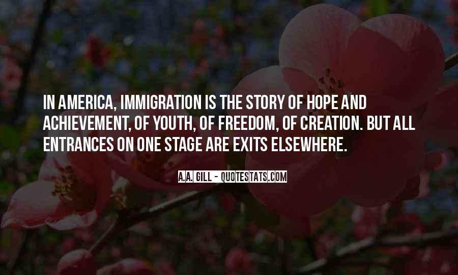 Quotes About America And Immigration #1182257