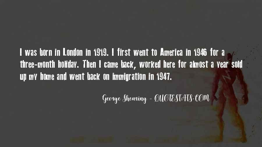Quotes About America And Immigration #1543349