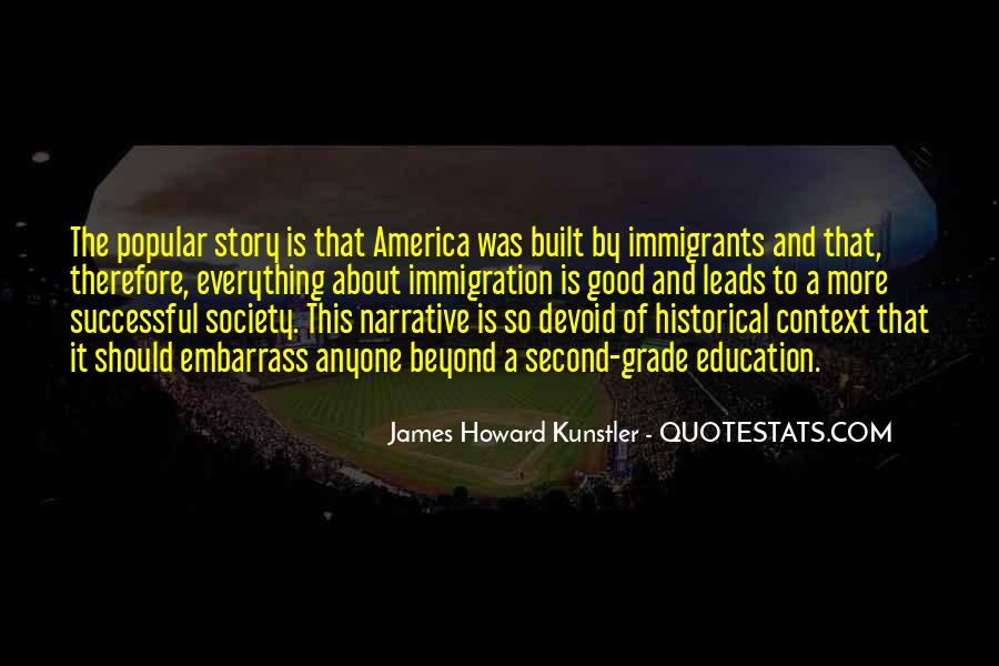 Quotes About America And Immigration #1770302