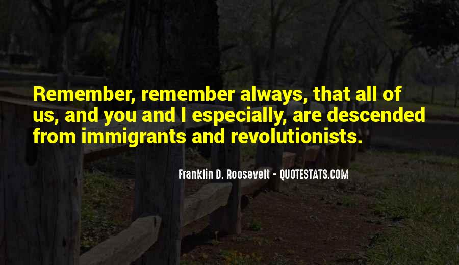 Quotes About America And Immigration #1830494