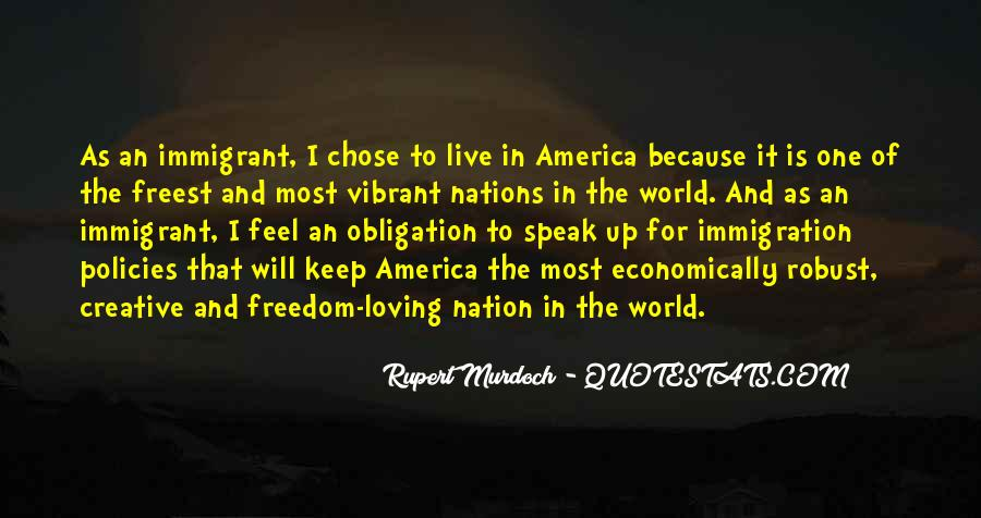 Quotes About America And Immigration #586990