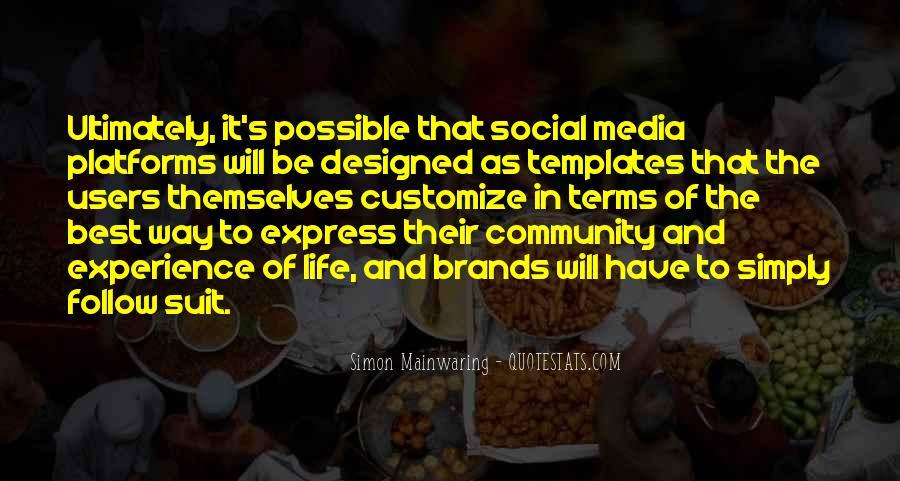 Best Social Media Sayings #1128927