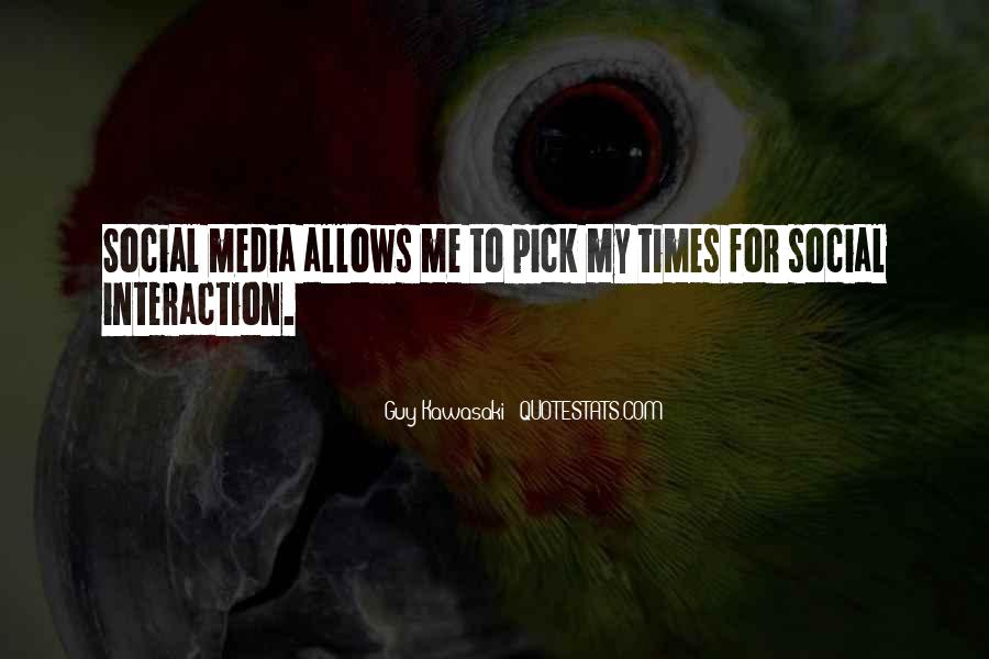 Best Social Media Sayings #61558