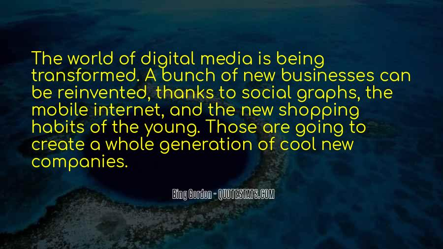 Best Social Media Sayings #66507
