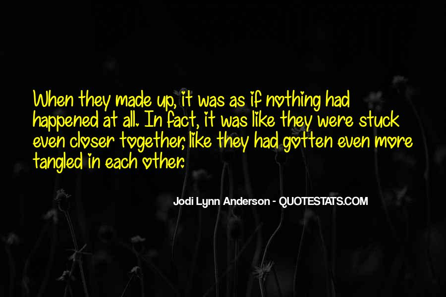 Stuck Together Like Sayings #389000