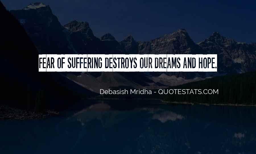 Suffering Quotes And Sayings #1238852