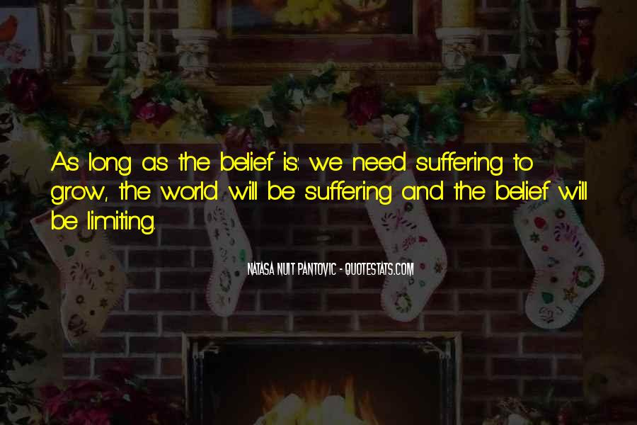 Suffering Quotes And Sayings #1266673