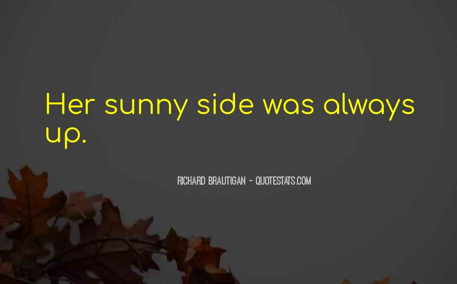 Sunny Side Up Sayings #179