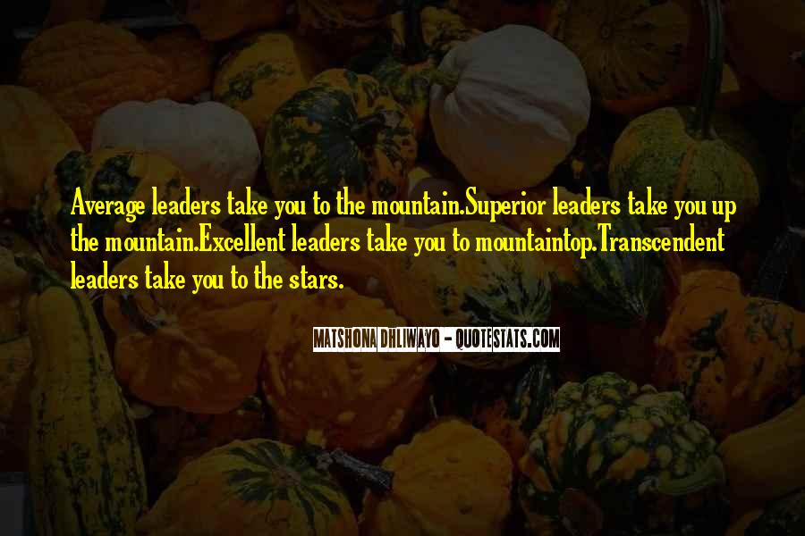 Superior Quotes And Sayings #1066497