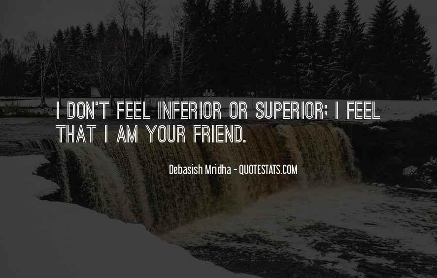 Superior Quotes And Sayings #1075074