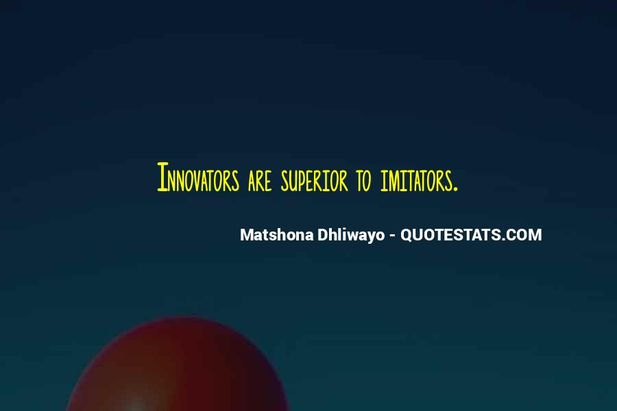 Superior Quotes And Sayings #1487103