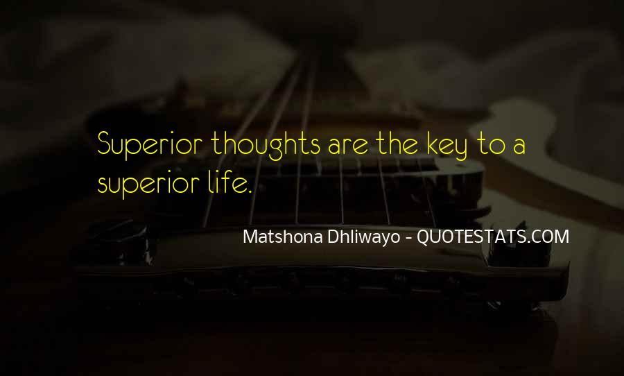 Superior Quotes And Sayings #716461