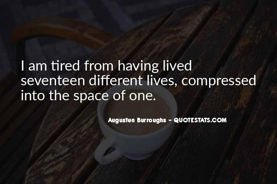 I Am Tired Sayings #113968