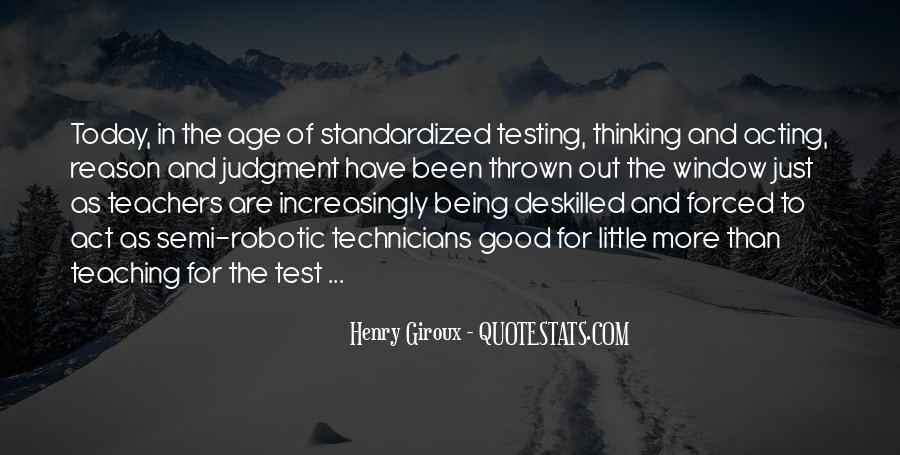 Standardized Test Sayings #1821772