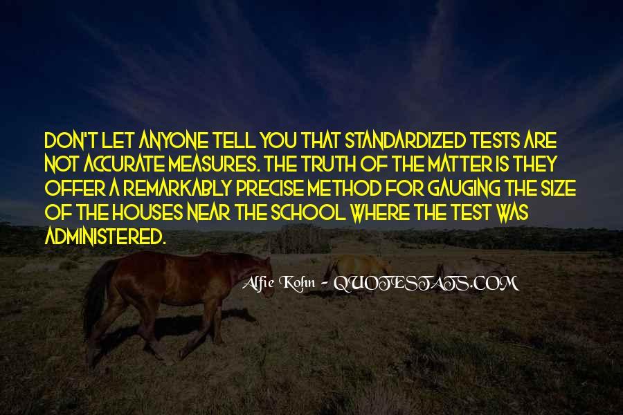 Standardized Test Sayings #27115