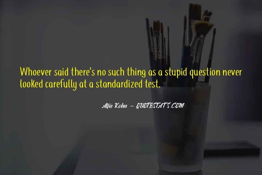 Standardized Test Sayings #467833