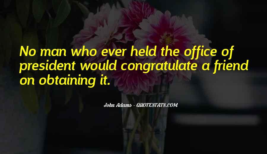 President John Adams Sayings #1343632