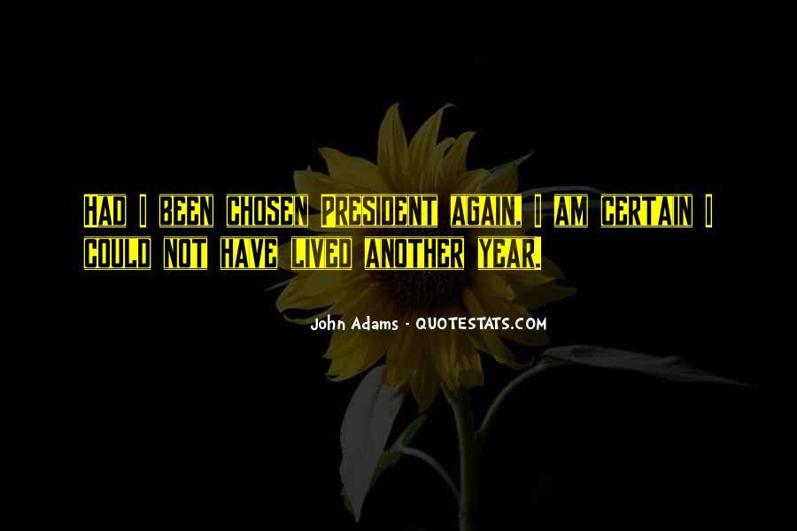 President John Adams Sayings #503552