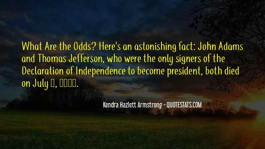 President John Adams Sayings #718698